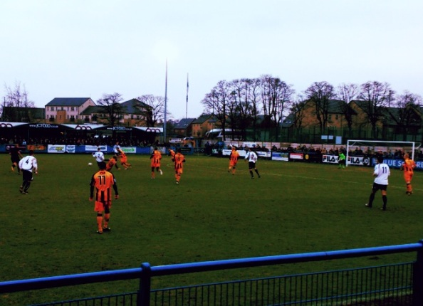 Despite a late goal for Boston, Guiseley managed to secure the 3 points with  2-1 victory