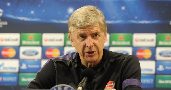 Arsene Wenger's Monday press conference was a little different to usual