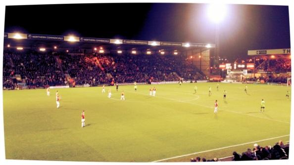 Semi final first leg Bradford City FC Vs Aston Villa FC