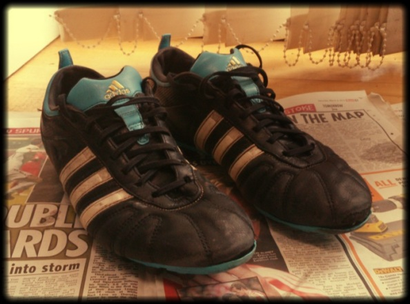 My old pair of mouldies, replaced by the Copa's above.