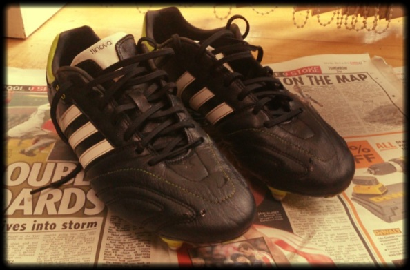 My Adidas AdiNova's for the 2012/2013 season.