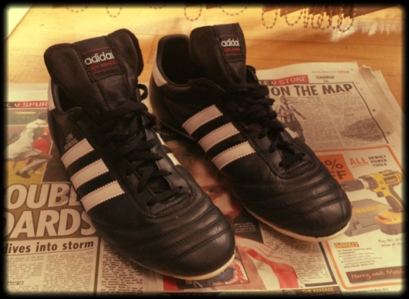 A pair of my all time favourite boots, Adidas Copa Mundials.