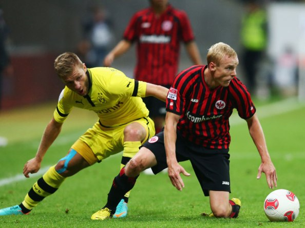 Sebastian Rode showcases his talents against Borrussia Dortmund