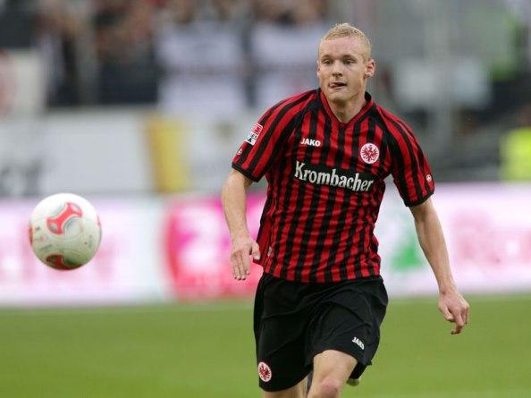 Eintracht Frankfurt's Sebastian Rode