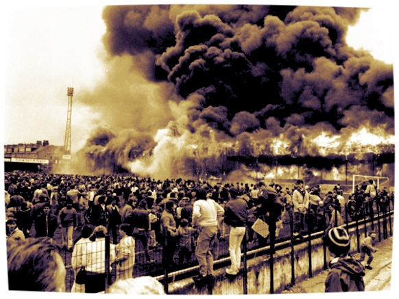 11th May 1985, the day of the Bradford City stadium fire