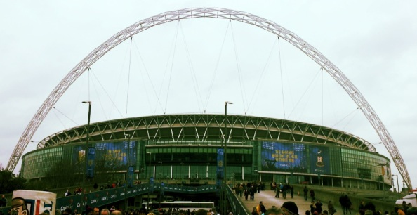 The final at Wembley Stadium