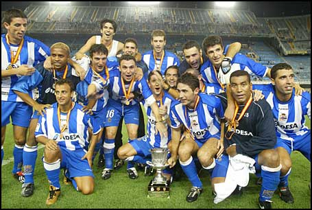 Deportivo La Liga dos Campeões 1999/2000