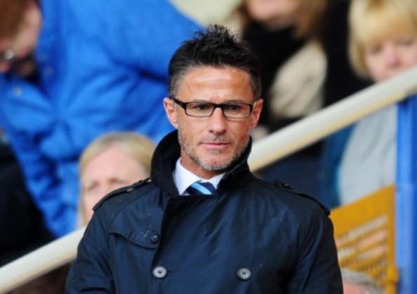 Benito Carbone at Sheffield Wednesday's Hillsborough Stadium