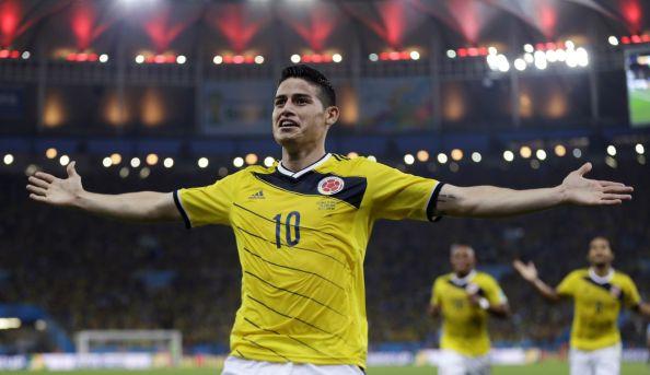 Golden Ball winner, James Rodriguez