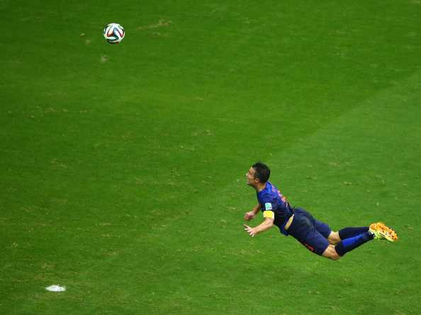 The flying Dutchman, Robin van Persie