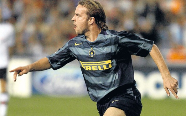 Van der Meyde during his stint at Inter Milan