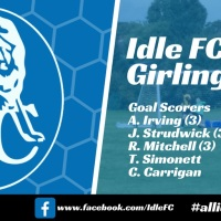 Match report: Idle FC 11 - 0 Girlington FC