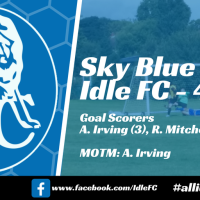 Match report: Sky Blue FC 1 - 4 Idle FC