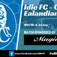 Match report: Idle FC 0 - 3 Ealandians FC Reserves