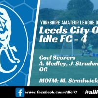 Match report: Leeds City Old Boys FC 2 - 4 Idle FC