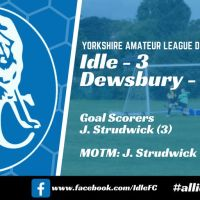 Match report: Idle FC 3 - 1 Dewsbury Rangers. Penalties all-round!