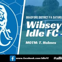 Match report: Wibsey 2 - 0 Idle FC. Semi-final agony and Phil Jones ecstasy!