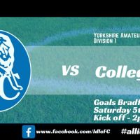Match report: Idle FC 4 - 0 Collegians FC. Sun, goals, flicks and tricks on the final day!