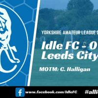 Match report: Idle FC 0 - 1 Leeds City Old Boys. The big one ends in disappointment for Idle.