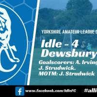 Match report: Idle FC 4 – 2 Dewsbury Rangers. A game of two halves.
