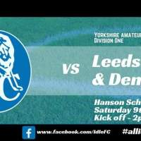 Match report: Idle FC 5 - 5 Leeds Medics & Dentist's III. Probably reached rock bottom...