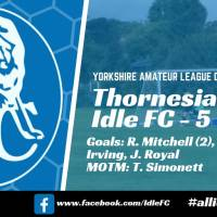 Match report: Thornesians FC 3 - 5 Idle FC. Back to winning ways in Wakefield!